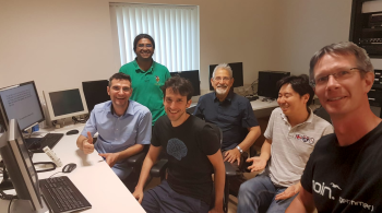 Visit of David Feinberg and Suhyung Park in July 2019 and