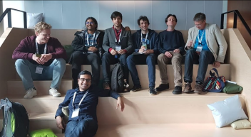 Many group members and former group members resting after an exhausting day of science. 2019