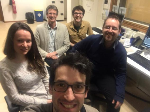 Visit from Aneurin in Dec 2019