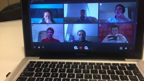 COVID-save group meeting